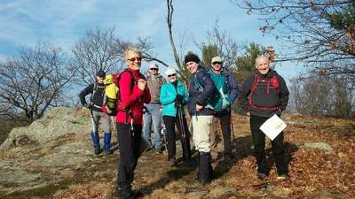 Hiking is the main outdoor activity of the Ottawa Rambling Club